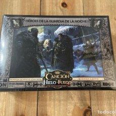 Jogos de mesa: CANCION DE HIELO Y FUEGO: EL JUEGO DE MINIATURAS - HEROES DE LA GUARDIA DE LA NOCHE I - EDGE - CMON. Lote 184062105