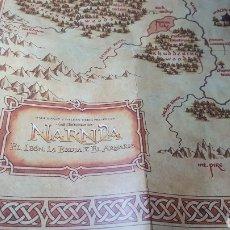 Juegos de mesa: MAPA LAS CRÓNICAS DE NARNIA. WALT DISNEY.. Lote 184149785