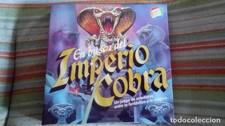 JUEGO EN BUSCA DEL IMPERIO COBRA CEFA TOYS (Juguetes - Juegos - Juegos de Mesa)