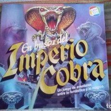 Juegos de mesa: JUEGO EN BUSCA DEL IMPERIO COBRA CEFA TOYS. Lote 184188820