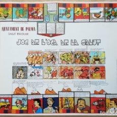 Juegos de mesa: JOC DE L'OCA DE LA SALUT. (JUEGO DE LA OCA) AJUNTAMENT DE PALMA - MALLORCA 1981.. Lote 184384161