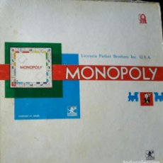 Juegos de mesa: MONOPOLY MADRID PARKER BORRÁS. Lote 184534375