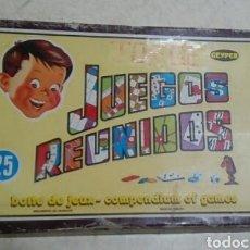 Juegos de mesa: JUEGOS REUNIDOS ( 25 JUEGOS ). Lote 184720603