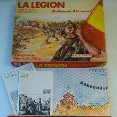 Juegos de mesa: LA LEGION NAC JUEGO DE LA GUERRA DE AFRICA. Lote 184784601