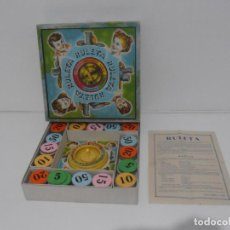 Juegos de mesa: JUEGO RULETA EN CAJA CON FICHAS E INSTRUCCIONES, BORRAS, AÑOS 60. Lote 184814356