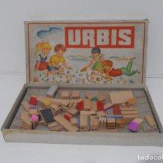 Juegos de mesa: JUEGO ARQUITECTURAS INFANTILES URBIS, AÑOS 60. Lote 184814438