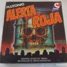 Juegos de mesa: .JUEGO DE MESA CEFA/ALERTA ROJA/SIN USO¡¡¡¡. . Lote 184914521