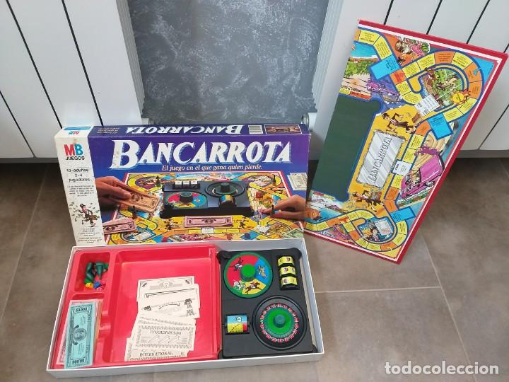 JUEGO DE MESA MB BANCARROTA (Juguetes - Juegos - Juegos de Mesa)