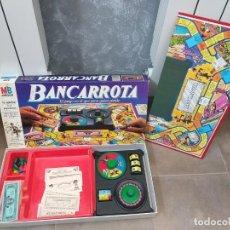 Juegos de mesa: JUEGO DE MESA MB BANCARROTA. Lote 185681322