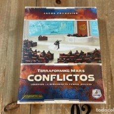 Juegos de mesa: JUEGO DE MESA - CONFLICTOS - EXPANSIÓN PARA TERRAFORMING MARS - MALDITO GAMES - PRECINTADO. Lote 185947047