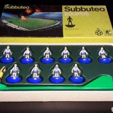 Juegos de mesa: SUBBUTEO EQUIPOS FÚTBOL R.C.D. ESPAÑOL, *EDICIÓN ESPAÑOLA* JUGUETES BORRÁS MADE IN SPAIN, AÑOS 80.. Lote 186215995