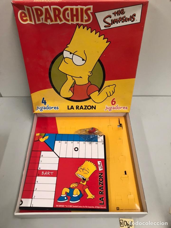EL PARCHÍS - THE SIMPSON (Juguetes - Juegos - Juegos de Mesa)
