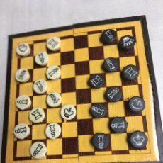Juegos de mesa: AJEDREZ IBERIA - CON TABLERO Y FICHAS DE IMANES - EN SU FUNDA. Lote 186736182