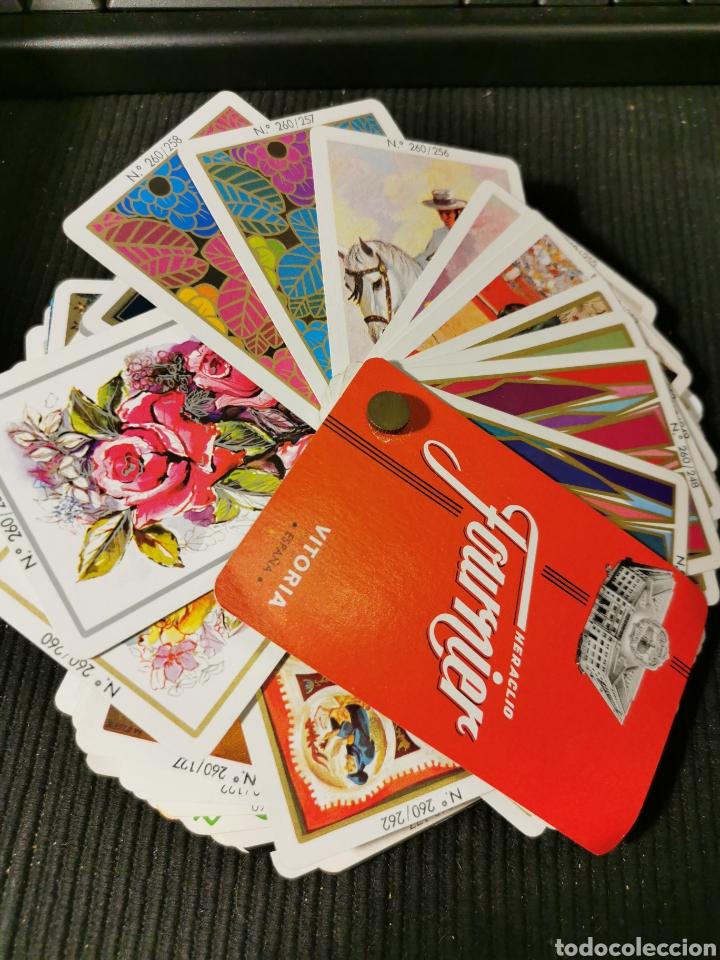 CATÁLOGO DE CARTAS, NAIPES FOURNIER. AÑOS 70. 100 CARTAS (Juguetes - Juegos - Juegos de Mesa)