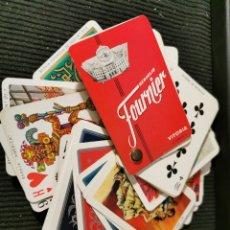Juegos de mesa: CATÁLOGO DE CARTAS, NAIPES. FOURNIER. 50 NAIPES. AÑOS 70. Lote 187122308