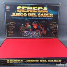 Juegos de mesa: SÉNECA JUEGO DEL SABER MB 1985 INCOMPLETO. Lote 187183813
