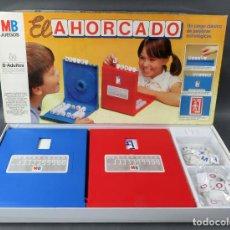 Juegos de mesa: EL AHORCADO MB JUEGO MESA AÑOS 80 CASI COMPLETO. Lote 187185270