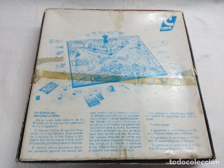 Juegos de mesa: JUEGO DE MESA/EN BUSCA DEL IMPERIO COBRA/DE CEFA-INCOMPLETO. - Foto 4 - 187186356