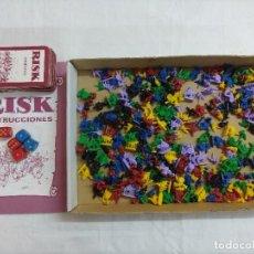 Juegos de mesa: JUEGO DE MESA/RISK DE PARKER/INCOMPLETO.. Lote 187187533