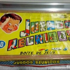 Juegos de mesa: JUEGOS REUNIDOS JUEGO ANTIGUO DE MESA DE GEYPER 10. Lote 187213963