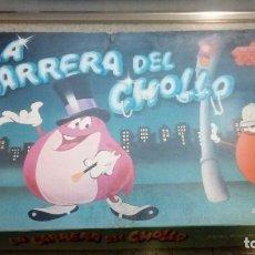 Juegos de mesa: LA CARRERA DEL CHOLLO JUEGO DE MESA ANTIGUO 1984 MASCOTA DEL 1,2,3 DALMAU CARLES PLA. Lote 187218337