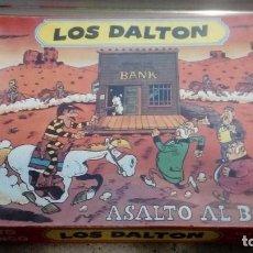 Juegos de mesa: LOS DALTON ASALTO AL BANCO JUEGO DE MESA ANTIGUO AÑOS 80 BUEN ESTADO Y COMPLETO FALOMIR JUEGOS. Lote 187219192