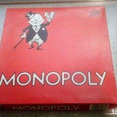 Juegos de mesa: MONOPOLY JUEGO DE MESA ANTIGUO . Lote 187219962