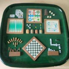 Juegos de mesa: PARCHIS , AJEDREZ, DOMINO, JUEGO DE LA OCA *** MINIATURAS. Lote 187253925