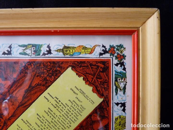 Juegos de mesa: ANTIGUO PARCHIS CON MARCO Y CRISTAL. FALLA MALVARROSA - A. PONZ - CAVITE. LIT. AÑON. VALENCIA - Foto 8 - 187424507