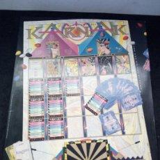 Juegos de mesa: ANTIGUO JUEGO DE MESA, KARNAK, EL OJO DEL FUTURO. DE FOURNIER. COMPLETO. Lote 187499356