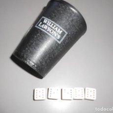 Juegos de mesa: JUEGO DADOS . Lote 187500966