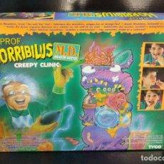 Juegos de mesa: PROFESOR HORRIBILUS CREPY CLINIC DE TYCO AÑO 1996. Lote 188605771