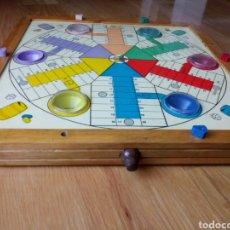 Juegos de mesa: PARCHIS AUTOMÁTICO ANTIGUO. PARCHIS 6 JUGADORES. Lote 188738411