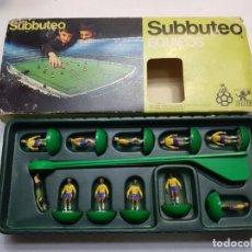 Juegos de mesa: SUBBUTEO EQUIPO BRASIL REF 35 DE BORRAS EN BLISTER ORIGINAL DIFÍCIL . Lote 189175111