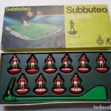 Juegos de mesa: SUBBUTEO EQUIPO HOLANDA DE BORRAS EN BLISTER ORIGINAL DIFÍCIL . Lote 189175907