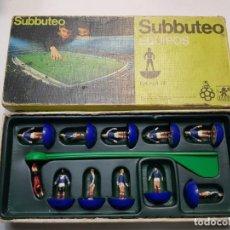 Juegos de mesa: SUBBUTEO EQUIPO ESCOCIA DE BORRAS EN BLISTER ORIGINAL DIFÍCIL . Lote 189176087