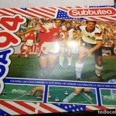 Juegos de mesa: SUBBUTEO USA 94 DE BORRAS EN BLISTER ORIGINAL. Lote 189177443