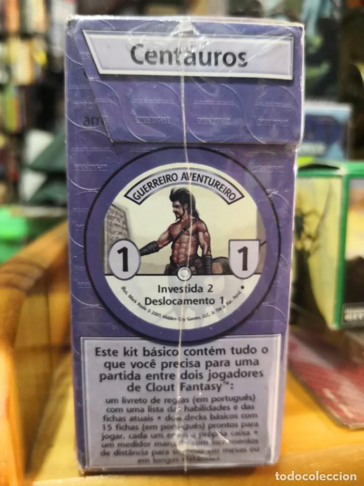 Juegos de mesa: Caja 30 fichas CLOUT FANTASY : CENTAUROS Y GOBLINS precintada - Foto 2 - 189408081