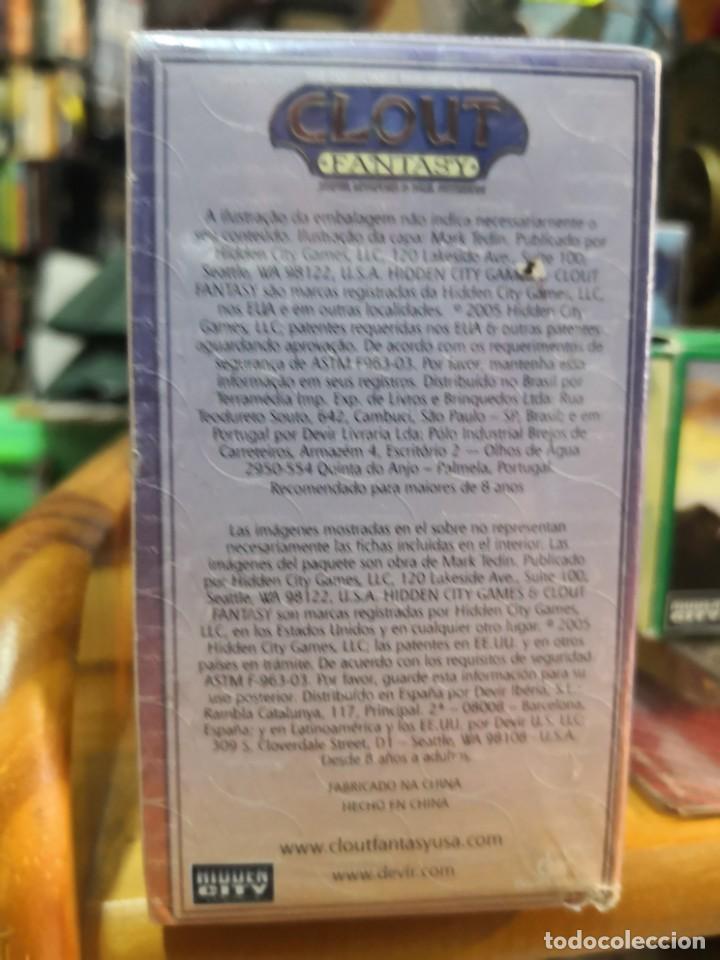 Juegos de mesa: Caja 30 fichas CLOUT FANTASY : CENTAUROS Y GOBLINS precintada - Foto 3 - 189408081