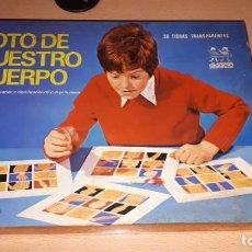 Juegos de mesa: LOTO DE NUESTRO CUERPO-DIDACTA REF.706. Lote 189432906