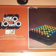 Juegos de mesa: MAKO 10SUR10 DE 1975. Lote 189433040