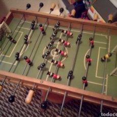 Juegos de mesa: ANTIGUO FUTBOLIN DE MADERA. Lote 189483652