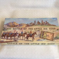 Juegos de mesa: JUEGO DE MESA - 1964- BATALLA DE LITTLE BIG HORN - (FIGURAS INDIOS VAQUEROS COWBOYS OESTE FAR WEST). Lote 189575675