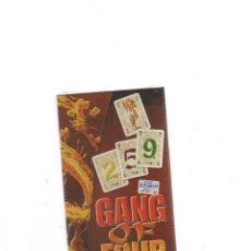 Juegos de mesa: GANG OF FOUR DAYS OF WONDER JUEGO DE CARTAS. Lote 189935185