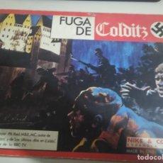 Juegos de mesa: FUGA DE COLDITZ DE NAC. JUEGO DE MESA. COMPLETO. Lote 190000656
