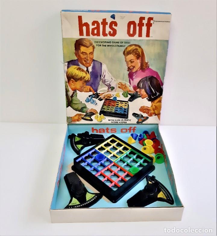 HATS OFF-EL EMOCIONANTE JUEGO DE HABILIDAD PARA TODA LA FAMILIA 1968-INCOMPLETO (Juguetes - Juegos - Juegos de Mesa)