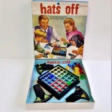 Juegos de mesa: HATS OFF-EL EMOCIONANTE JUEGO DE HABILIDAD PARA TODA LA FAMILIA 1968-INCOMPLETO. Lote 190083085