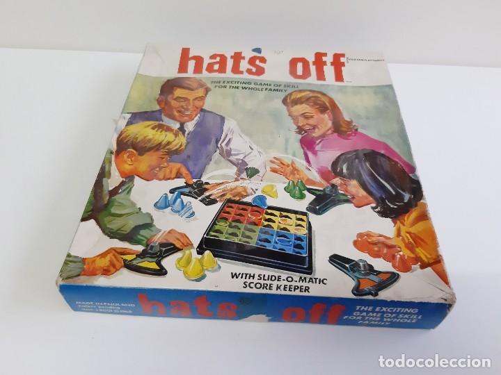 Juegos de mesa: Hats Off-el emocionante juego de habilidad para toda la familia 1968-incompletO - Foto 13 - 190083085