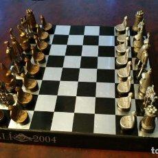 Jogos de mesa: AJEDREZ DE DALI - Y CARTAS - DEL DIARIO CINCO DIAS Y ENDESA - DIFICIL. Lote 188564306