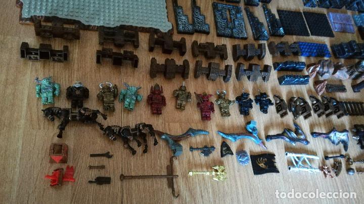 Juegos de mesa: Dragons Iron Raiders caja metal Mega Blocks instrucciones catálogos N. 9650 Megablocks - Foto 2 - 190206497